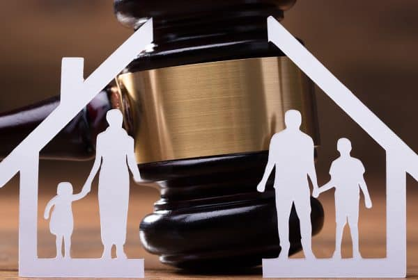 Family divided by parenting consent order